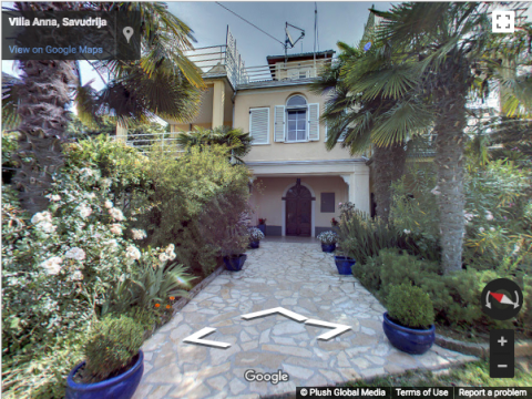 Croatia Virtual Tours – Villa Anna