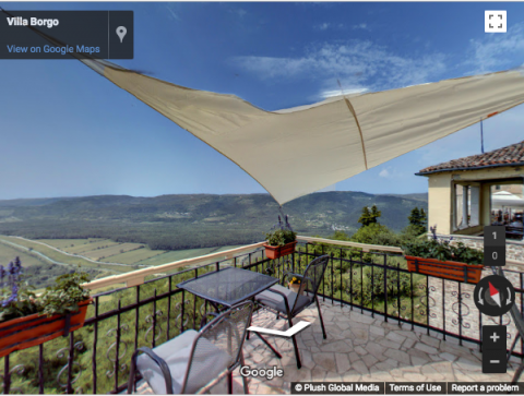 Croatia Virtual Tours – Villa Borgo