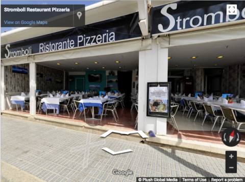 Barcelona Virtual Tours – Restaurante Pizzeria Stomboli