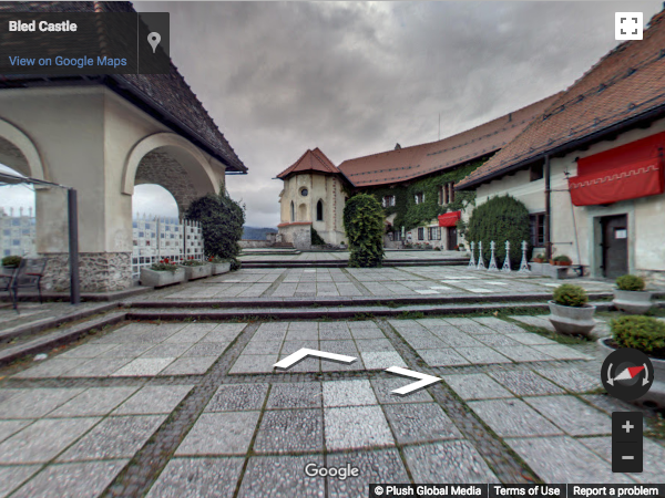 Slovenia Virtual Tours - Blejski grad (Bled Castle)