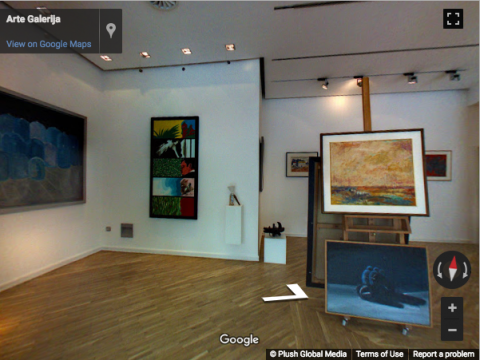 Serbia Virtual Tours – Arte Galerija
