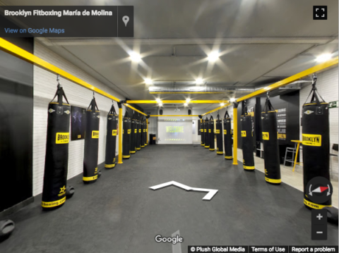 Madrid Virtual Tours – Brooklyn Fitboxing María de Molina