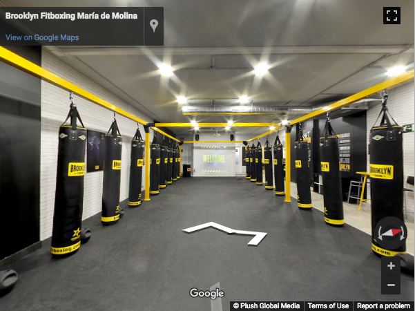 Madrid Virtual Tours - Brooklyn Fitboxing María de Molina