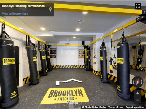 Madrid Virtual Tours – Brooklyn Fitboxing Torrelodones
