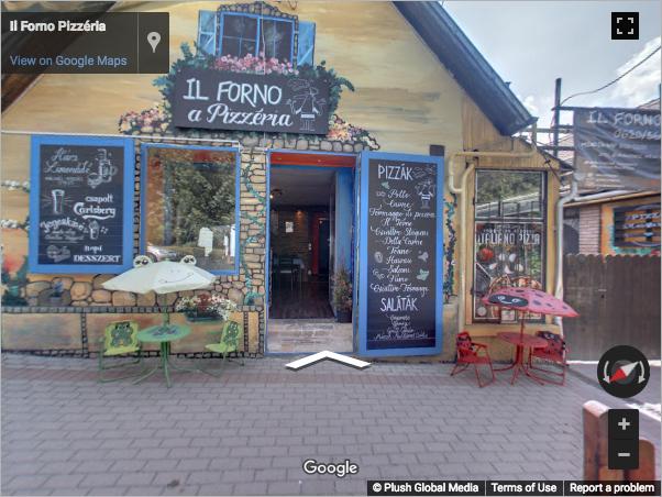 Budapest Virtual Tours - Il Forno pizzéria Budakeszi