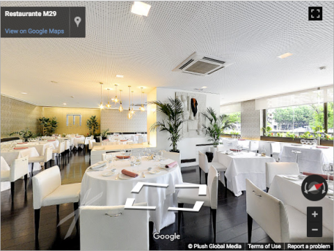 Madrid Virtual Tours – Hotel Miguel Ángel – Restaurante M29