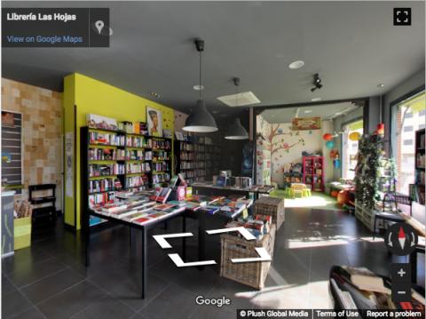 Madrid Virtual Tours – Libreria las Hojas