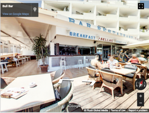 Ibiza Virtual Tours – Bull Bar Tavern Ibiza