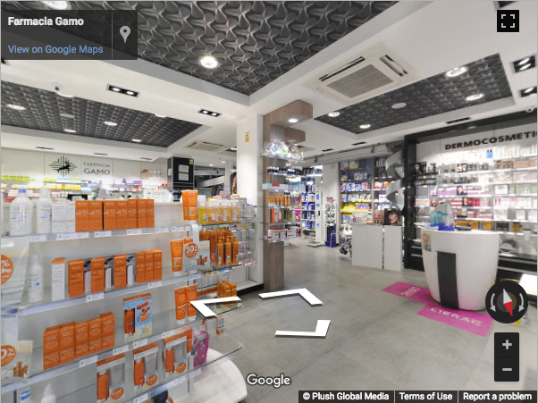 Guadalajara Virtual Tours - Farmacia Gamo Guadalajara