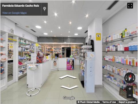 Tarragona Virtual Tours – Farmacia Eduardo Reus