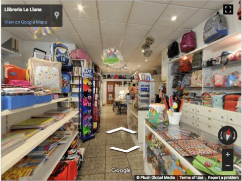 Tarragona Virtual Tours – Libreria La Lluna Reus