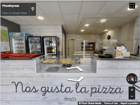Tarragona Virtual Tours – Pizza Express Vila Seca