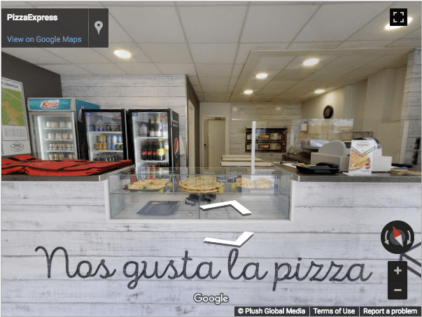 Tarragona Virtual Tours - Pizza Express Vila Seca
