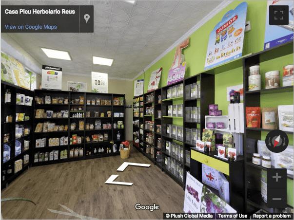 Tarragona Virtual Tours - Casa Picu Herbolario Reus