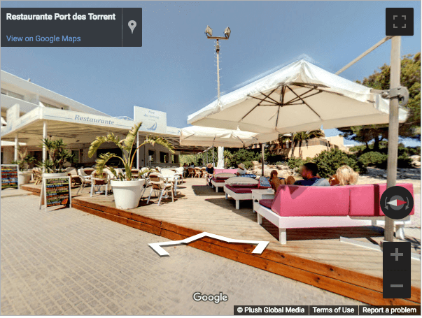 Ibiza Virtual Tours - Restaurante Port des Torrent