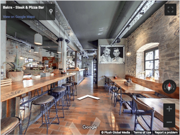 Croatia Virtual Tours - Bakra Steak & Pizza Bar | Plush