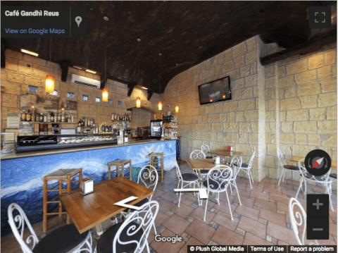 Tarragona Virtual Tours – Café Gandi Reus