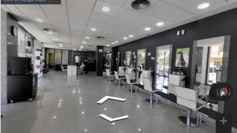 Tarragona Virtual Tours – Nicco peluquería Reus