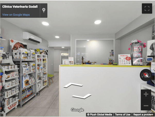 Tarragona Virtual Tours - Veterinaria Godall Salou