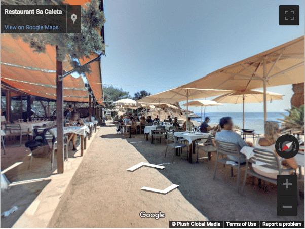 Ibiza Virtual Tours - Restaurante Sa Caleta