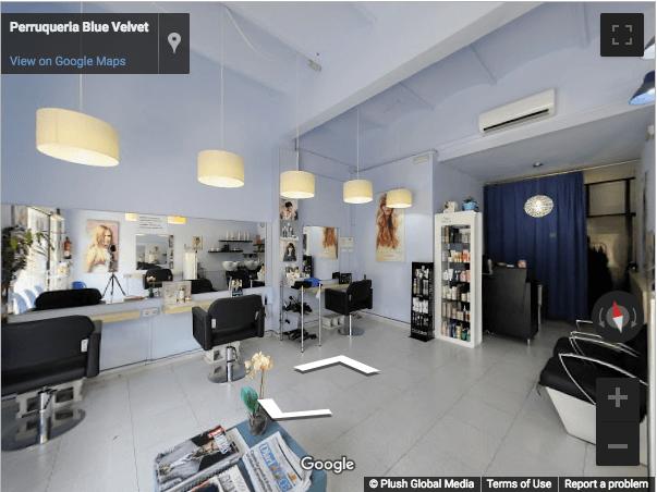 Tarragona Virtual Tours - Blue Velvet Peluquería
