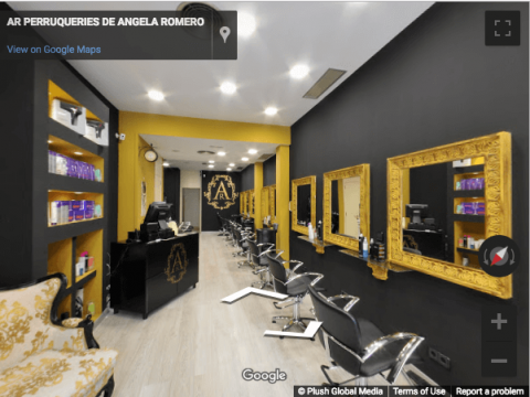 Tarragona Virtual Tours – AR Peluqueria