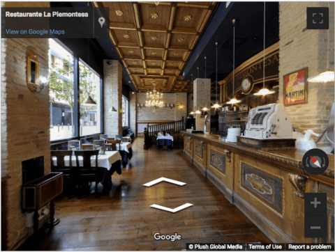 Tarragona Virtual Tours – La Piemontesa Pizzeria
