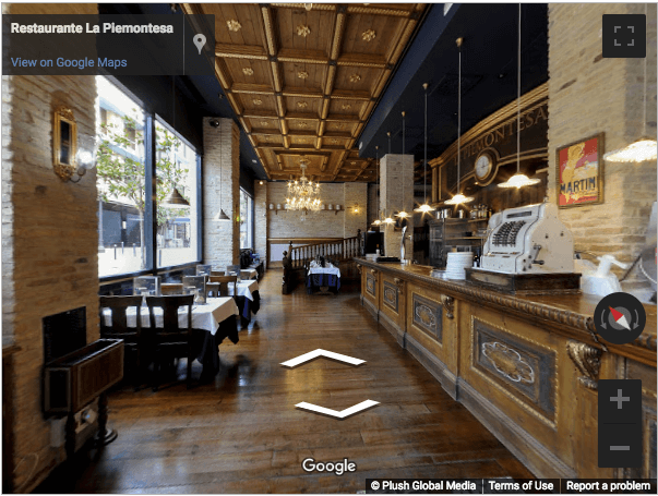 Tarragona Virtual Tours - La Piemontesa Pizzeria