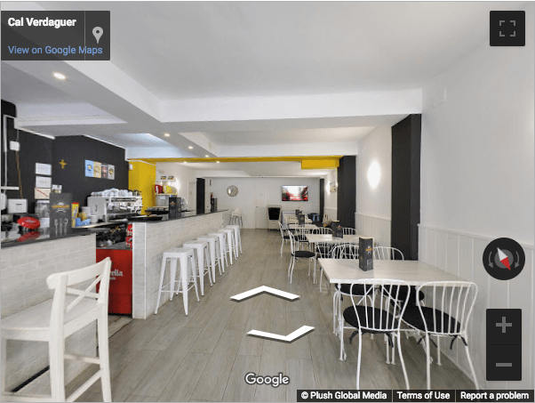 Tarragona Virtual Tours - Cafetería Verdaguer