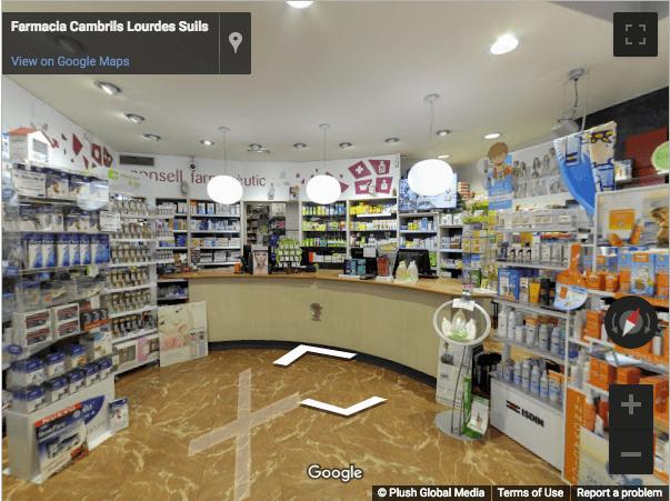 Tarragona Virtual Tours - Farmacia Suils Cambrils