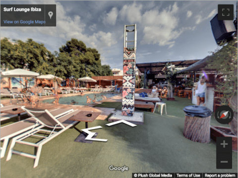 Ibiza Virtual Tours – Surf Lounge Ibiza