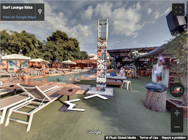 Ibiza Virtual Tours - Surf Lounge Ibiza