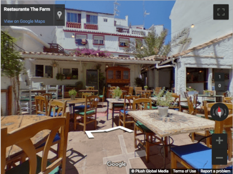 Marbella Virtual Tours – The Farm Restaurant