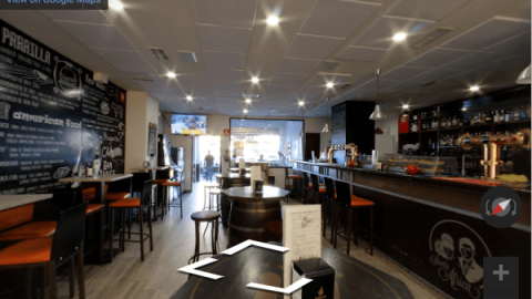 Madrid Virtual Tours – Cerveceria Santa Africa