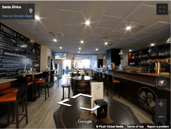 Madrid Virtual Tours - Cerveceria Santa Africa
