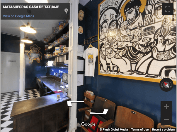 Madrid Virtual Tours - Tattos Matasuegras