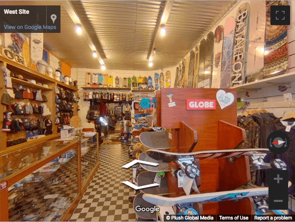 Gent Virtual Tours - West-Site Boardshop