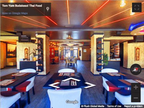Budapest Virtual tours – Tom Yum Budakeszi Thai étterem