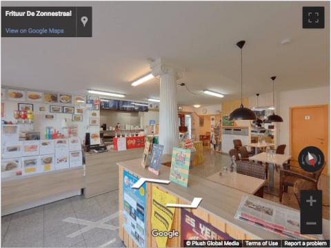Zulte Virtual Tours – Frituur de Zonnestraal