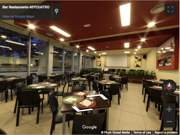 Madrid Virtual Tours - Restaurante 40 y Cuatro