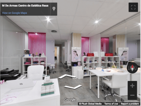 Tarragona Virtual Tours – M De Armas Centro de Estética Reus