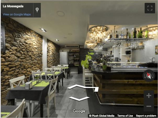 Tarragona Virtual Tours - La Mossegada Resturante