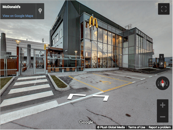 Slovenia Virtual Tours - McDonalds Rudnik