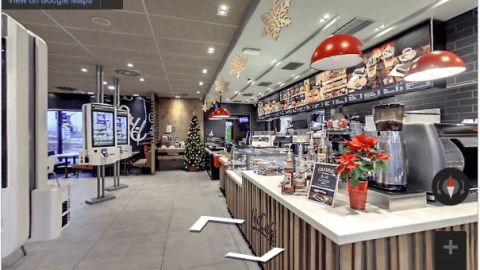 Slovenia Virtual Tours – McDonalds Novo Mesto