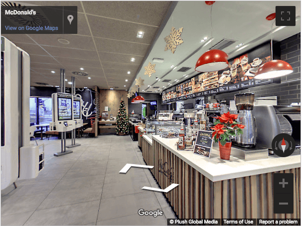 Slovenia Virtual Tours - McDonalds Novo Mesto