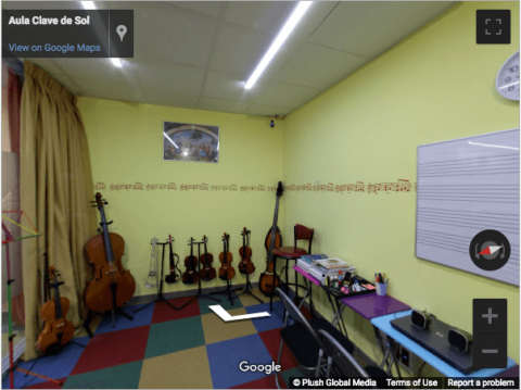 Madrid Virtual Tours – Aula Clave de Sol