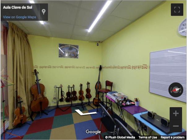 Madrid Virtual Tours - Aula Clave de Sol