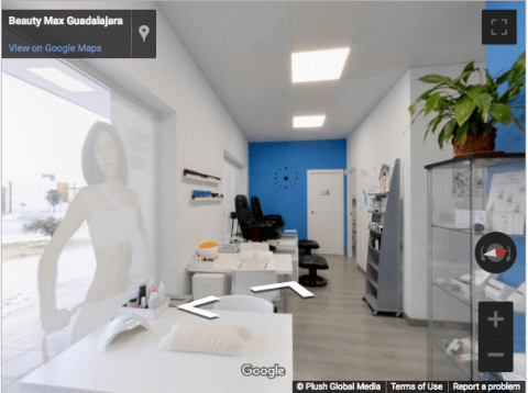 Guadalajara Virtual Tours – Beauty Max Guadalajara