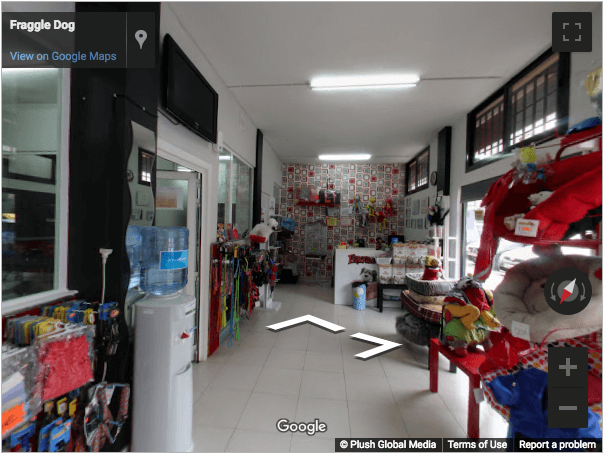 Madrid Virtual Tours - Fraggle Dog Peluqueria Canina