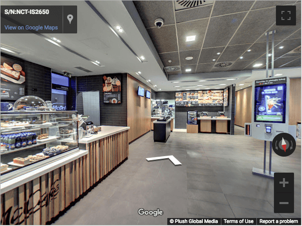 Slovenia Virtual Tours - McDonalds Koper